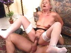 Eine 60-jährige Frau