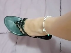 Giocando con i miei piedi