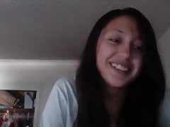 Webcam Girl Raven dai capelli