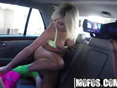 Mofos - Stranded Teens - Alessandra Noir - Dirty Gal Fucks i