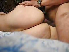 PAWG côté baise et sperme sur le cul