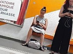 2 dziewczyny upskirt