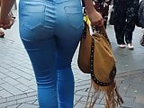 Sexy Girl Friend Epic Arse Ass Booty Butt in Tight Jeans