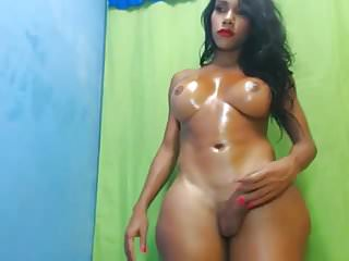 Latin Shemale Webcam Shemale Solo Shemale video: Sexy & nice cock latina ts