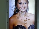 Holly Valance Cum Tribute