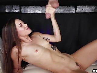 Handjob Glory Hole Hd Videos video: Handjob How To...Dacey At the Milking Table