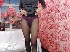 Beauty in tights!