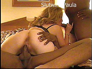 Amateur Interracial porno: Slutwife Paula