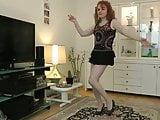 a sexy lady dancer