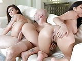 StepSiblings - Step Sisters Fuck Boss For Job