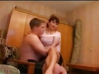 Group Sex Oldyoung Russian video: Russian mother humilation by group of young boys