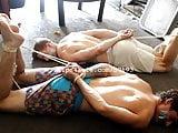 Male Bondage - Aaron and Logan Bondage Part2 Video1