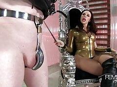 Dominatrice Empire Chanel Preston Chastity