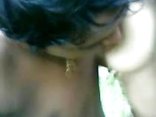 indian girl in forest with his bf