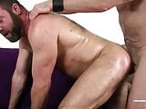 Topher Phoenix Takes A Bareback Train Fuck