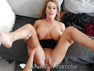 Anal Matures Milfs video: Stepmom anal pounded by loser son