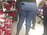 Sweet Ass Latina in Tight Jeans