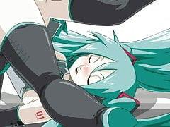 Hatsune Miku compilation 3D (Vocaloid)