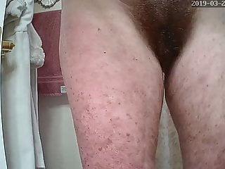Big Tits Mature Granny video: Pre masturbate 2