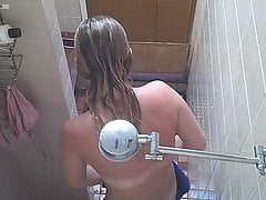 Incredible Teenie In Shower