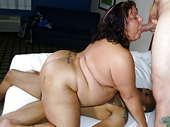 50yo Wife's Cuckold Fantasy – My Hubby Would Love to Clean Up