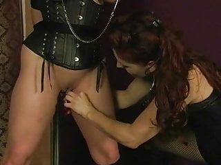 Lesbian master torturing jewell...