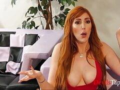 Gorgeous MILF Gushing On Stepson's Cock - Lauren Phillips