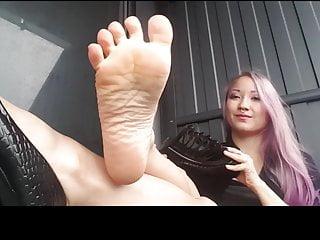 Asia feet porn