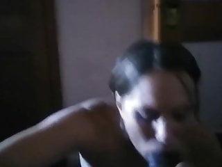 Latina Horny milf Sucking Penis