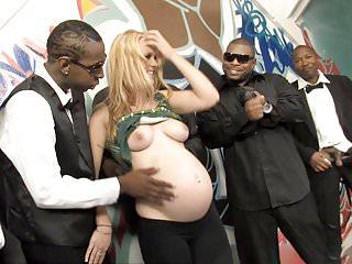 Pregnant hydii may bbc interracial gangbang...