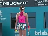 Garbine Muguruza Practice (Brisbane International)