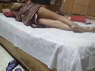 Masturbation. Vali gives handjob to husband