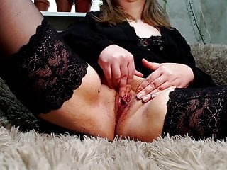 Close up masturbation