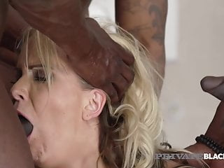 PrivateBlack – German Cougar Julia Pink Ass Packed By three BBCs