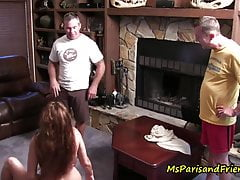 Hot MILFs Licking Pussy Start an Orgy During the Quarantine