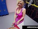 Busty Planet Pleasing Milf Julia Ann Fucked By Hard Gym Dick