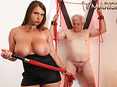 MARISKAX Busty babe Sexy Susi dominates her sugar daddy
