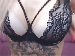 Sexy Blonde Toys Her Sweet Pussy