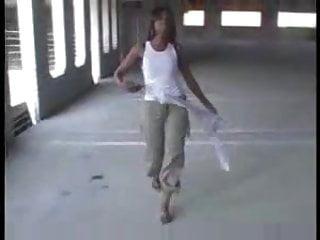 stripping in the garage