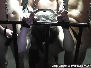 Sex slave slutwife used by plenty of men