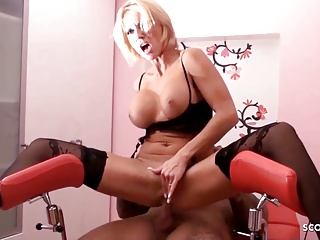 amateur anal sex for german lingerie milf kada on gyno chairPorn Videos