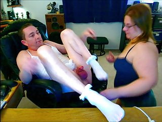 Baby Dick Sissy Hubby Has an Itchy Pussy