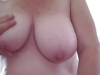 Her natural and nipples...
