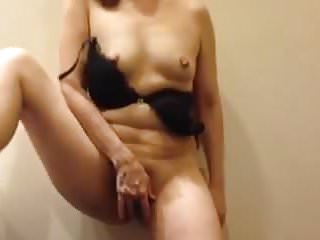 Rubbing pussy...