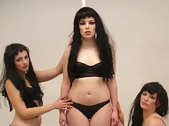 Girl Stripped By 2 Girls And Tied Bdsm