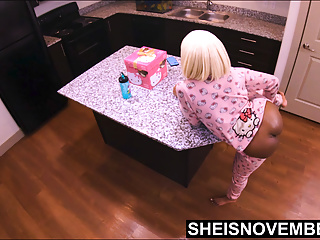 4k Foreplay With Msnovember Then Step Dad Fucks Her Ebony Cunt