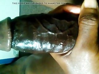 Huge Black Cock Jerking Off and Shooting Cum Loads Very Sexy