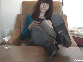 Heels on Table