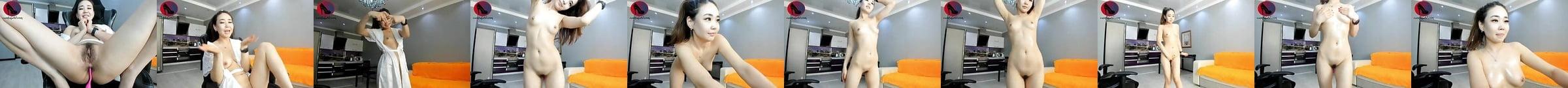 Heiße Koreanische Masturbation