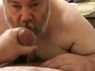 Bear suck cock...